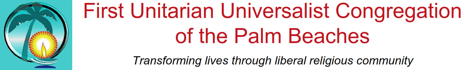 1st UU Congregation of the Palm Beaches Logo